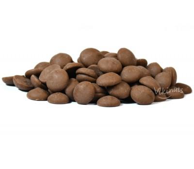Белгийски млечен шоколад на капки 250g