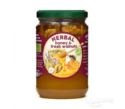 Билков мед с орехи 380g
