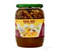 Билков мед с орехи 870g