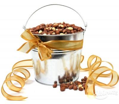 Кофа, пълна с Печени фъстъци - 2кг