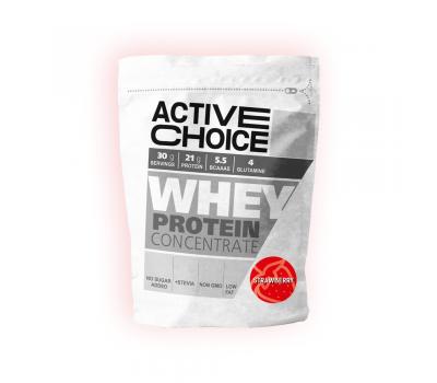Протеин на прах Ягода от Active choice 500g