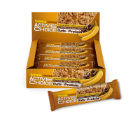 "Енергиен бар Kакао и банан ""Active choice"" 70g"
