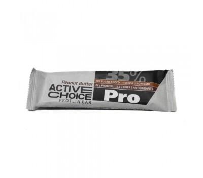 """Протеинов бар с Фъстъчено масло """"Active choice"""" 60g"""