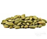 Печени белени тиквени семки